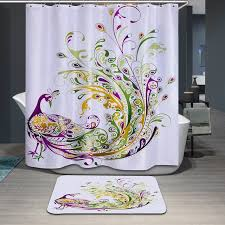 Boutique Curtains Peacock Prince Characteristic Boutique Shower Curtain
