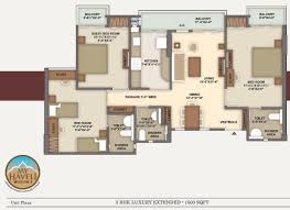 my haveli floor plans