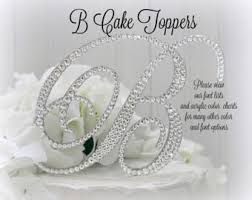 rhinestone monogram cake topper wedding cake topper letter m initial cake toppers m monogram