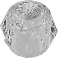 delta acrylic bathroom knob handle for faucets rp2389 the home depot