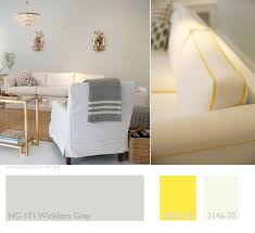 this week u0027s color palette gray yellow and cream straight from