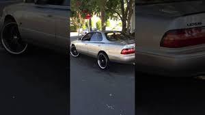 lexus es300 rims for sale 96 u0027 lexus es300 on 20s youtube