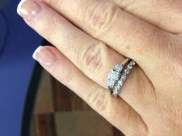 small stone rings images Small e rings weddingbee jpg