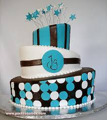 chocolate and turquoise wedding cakes decoration food and drink