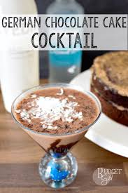 german chocolate cake dessert martini tastefully eclectic