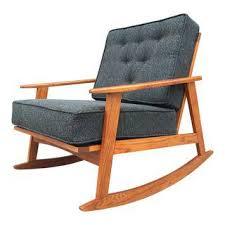 Mid Century Modern Rocking Chair Fine Mid Century Rocking Chair On Modern Furniture With Additional