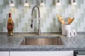 Recycled Glass Backsplashes For Kitchens Decor Tips Beautiful Recycled Glass Countertops For Eco