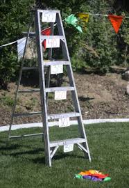 Backyard Graduation Party by Backyard Graduation Party Games Ladder Toss Actually The