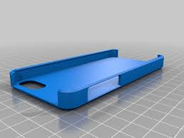 blank iphone 5 case template by everydaypotato thingiverse