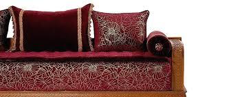 couvre canapé marocain housse canape marocain salon marocain blanc cassac amenda decor