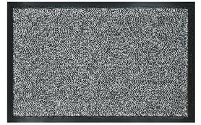 tappeti lecce tappeto nevada asciuga passi 90 x 150 cm in polipropilene grigio