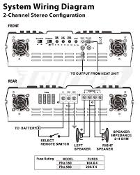wiring diagram 7 speakers on a 4 channel amp readingrat net within