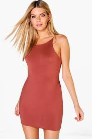 spaghetti dress spaghetti bodycon dress boohoo