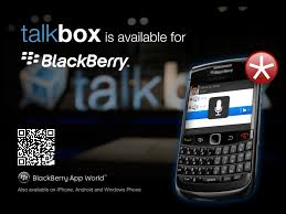 blackberry app world for android talkbox for blackberry smartphones now available on blackberry app