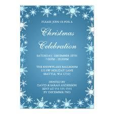 christmas party invitations snowflake border christmas party invitation card