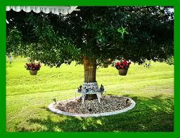 Landscaping Ideas Around Trees Flower Garden Ideas For Under A Tree Interior Design