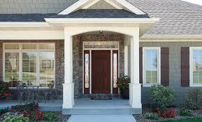 Exterior Doors Steel Fiberglass Steel Entry Doors Pella