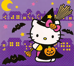 hello kitty halloween wallpapers desktop wallpaperpulse