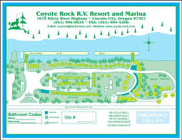 lincoln city map coyote rock rv resort marina 2 photos lincoln city or