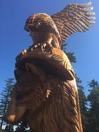 eagle and wolf picture of walk tripadvisor