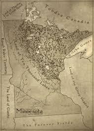 Fantasy Map I Made A Toponymic Fantasy Map Of Minnesota Minnesota