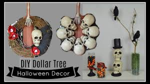diy dollar tree halloween decor home decor u0026 wreaths youtube