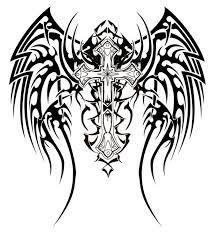 harley davidson symbol coloring pages tribal cross tattoos
