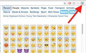 emoji keyboard chrome web store