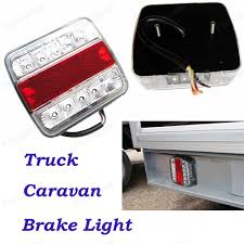 trailer tail lights for sale new arrival auto 12v 5 function 14 led tail light car rear brake