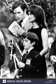 jacqueline kennedy onassis and her son john kennedy jr attend a