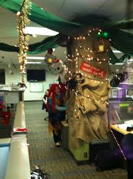 themed office decor decorating our area for the nightmare before christmas theme key