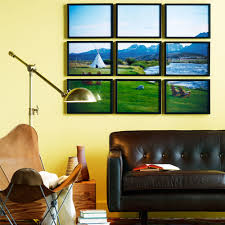 how to decorate with photos sunset