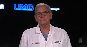 las vegas shooting umc trauma center chief says about 25 in