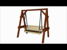 a frame swing plans myoutdoorplans free woodworking plans and