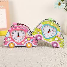 heart shaped piggy bank colorful car money box iron home decor money box clock heart