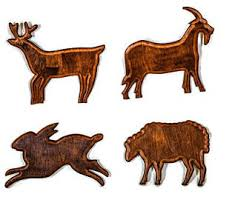 wooden animal wall animal wall decor etsy