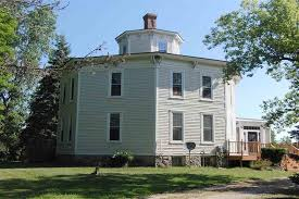octagonal houses george w smith octagon house circa old houses old houses for