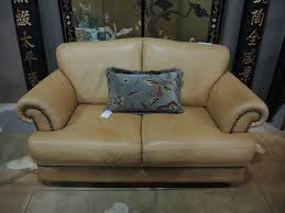 Italsofa Brown Leather Sofa by Consignment Sofa Seams To Fit Home Page 2