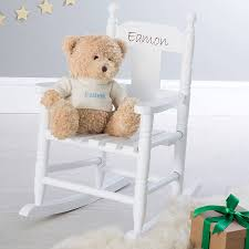 Pink Rocking Chair For Nursery Personalised Child U0027s Rocking Chair By My 1st Years