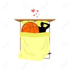 chambre a coucher amoureux lover basketball et balle au lit amoureux dans la chambre à