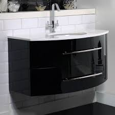 fair white gloss bathroom vanity unit for your home interior
