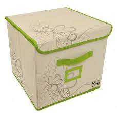 Storage Cubes Ottoman by Storage U0026 Organization Nice Yellow Folding Fabric Storage Cube