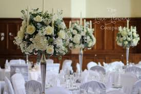 stunning ivory wedding flowers at horsley towers wedding in surrey