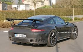 porsche gtr 2017 2017 porsche 911 gt3 rs gets bigger 4 2l flat six may get a
