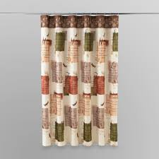 essential home shower curtain botanical dream home bed