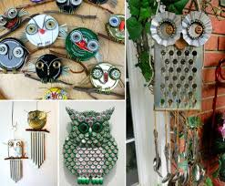recycled home decor projects diy recycled owl art pictures photos and images for facebook