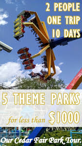cedar fair parks map best 25 cedar fair parks ideas on vacation scrapbook