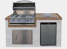 outdoor kitchen islands gas grills charcoal grills and grill accessories at the home depot