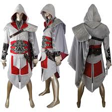 assassin u0027s creed ezio brotherhood cosplay costume halloween