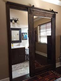 Barn Style Interior Sliding Doors Bathroom Interior Sliding Barn Door For Bathroom With Single